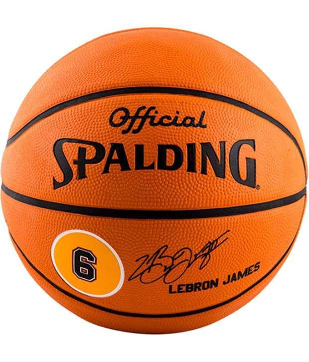 pretty nice ce587 90239 Spalding Lebron James Basketball / Ball