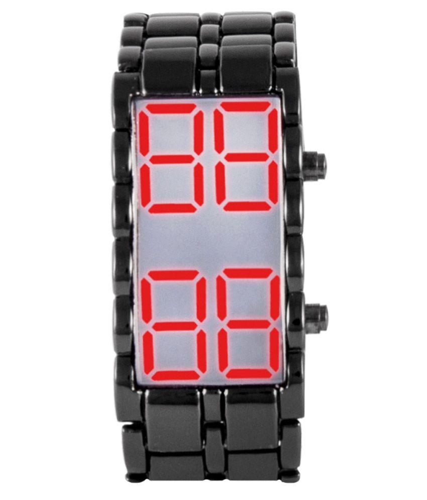 Iwmart Black Casual Digital Watch For Kids