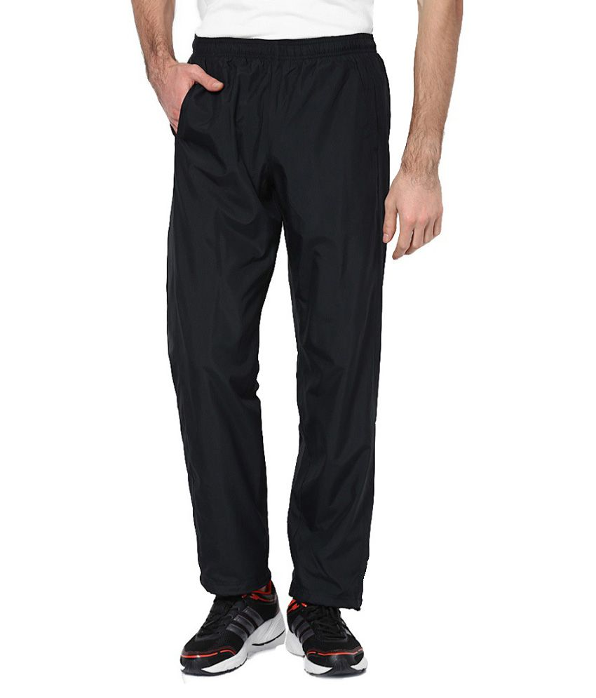Nrgy Black Polyester Trackpant