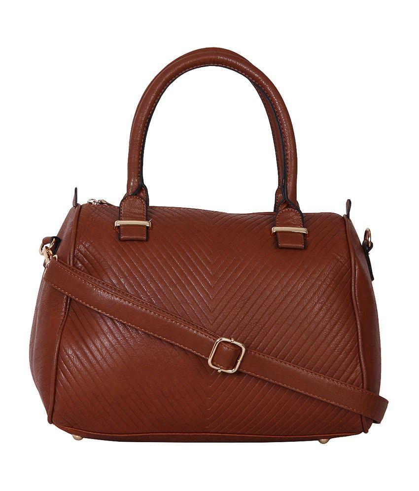 Indiwagon Brown Shoulder Bag