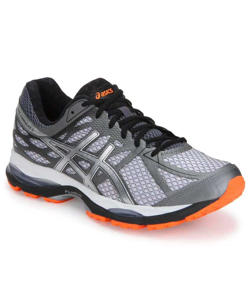 Asics Gel Cumulus 17 Silver Sports Shoes ...