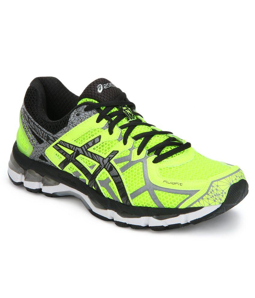 low priced 181f1 b695e Asics Gel Kayano 21 Lite Show Yellow Sports Shoes