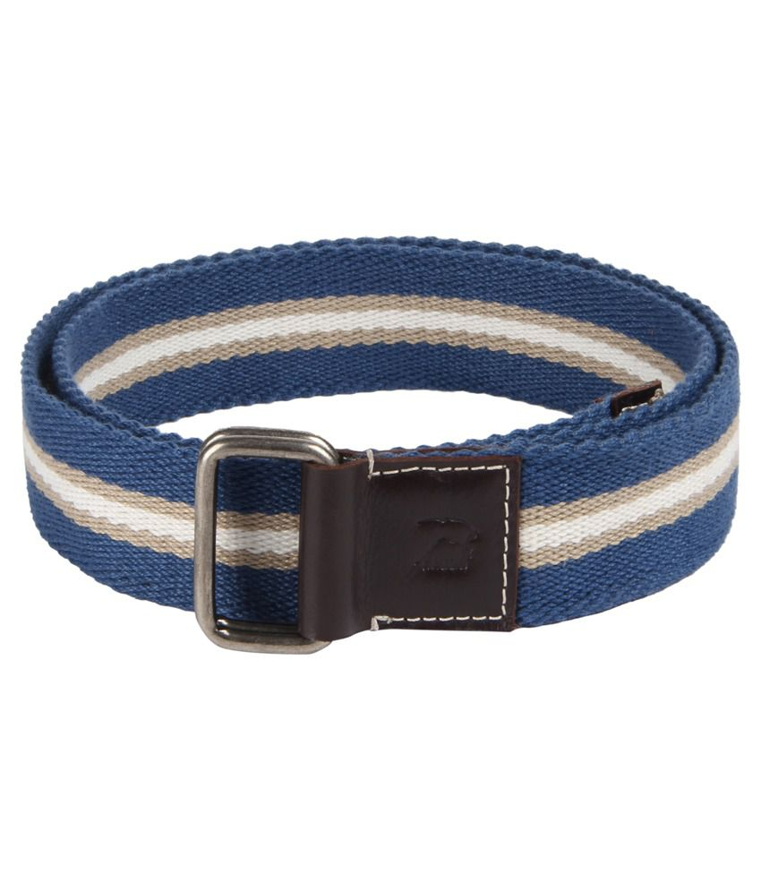 Kaizu Multicolour Pin Buckle Casual Canvas Belt