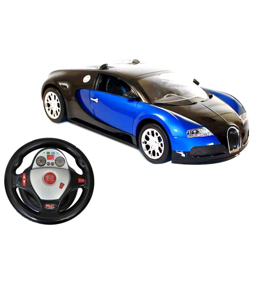 Fantasy India Fantasy India Rechargeable Powerful Bugatti Gravity Sensor & Dangling Control With Steering Blue