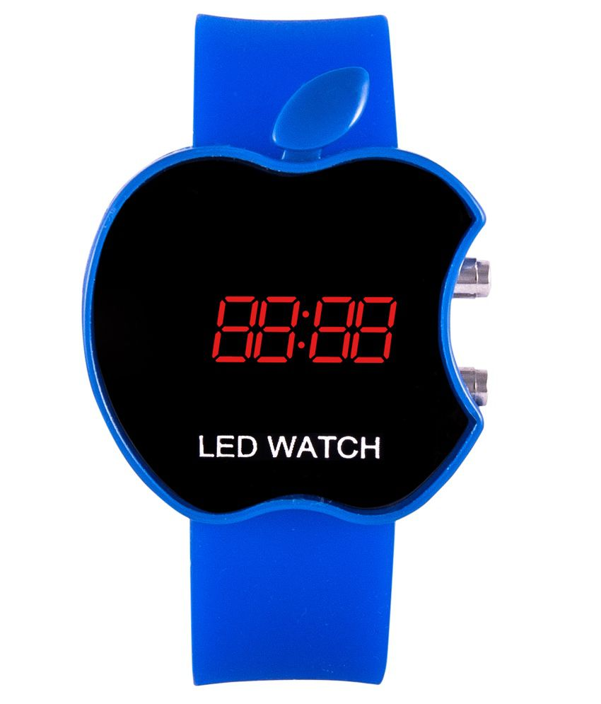 Iwmart Blue Casual Digital Watch For Kids