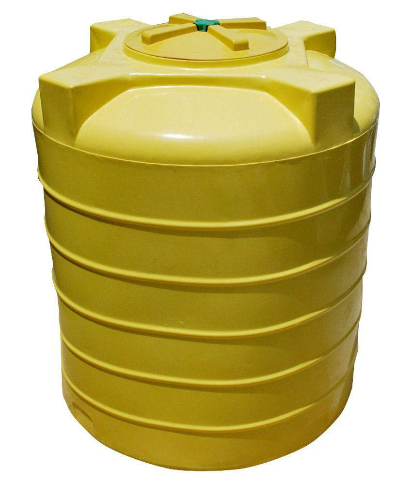 buy supreme yellow plastic water tank 750 ltr online at low price