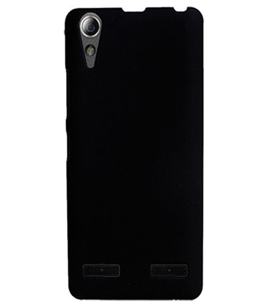 new styles eaaef 3b05d Coverage Back Cover For Lenovo A6000/ A6000 Plus - Black