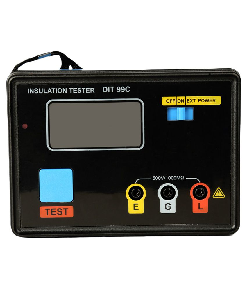 Mextech-DIT-99C-Digital-Insulation-Tester