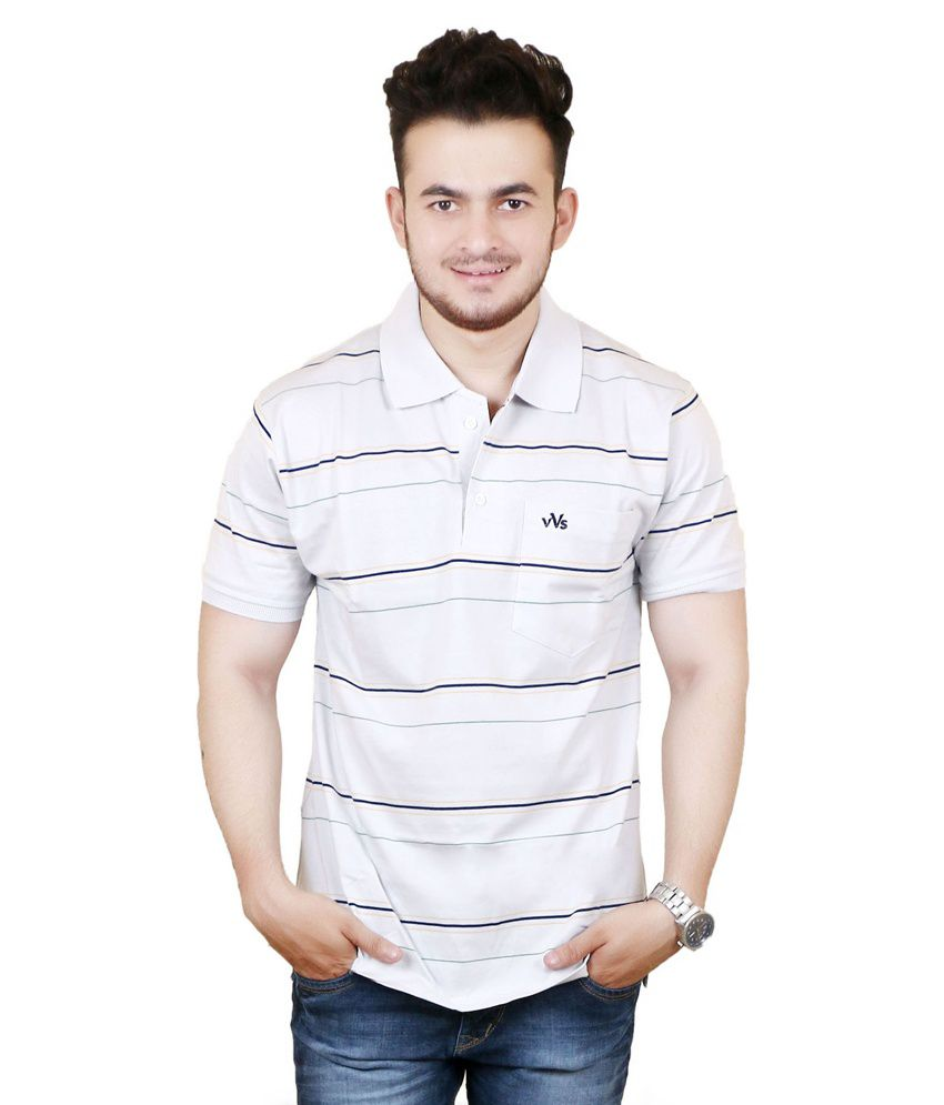 Zrestha White 100 Percent Cotton T Shirt