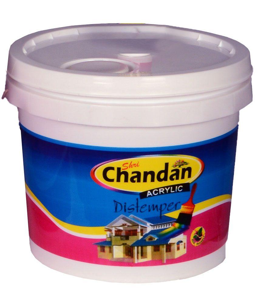Buy Chandan Orange Acrylic Distemper Interior Wall Paint