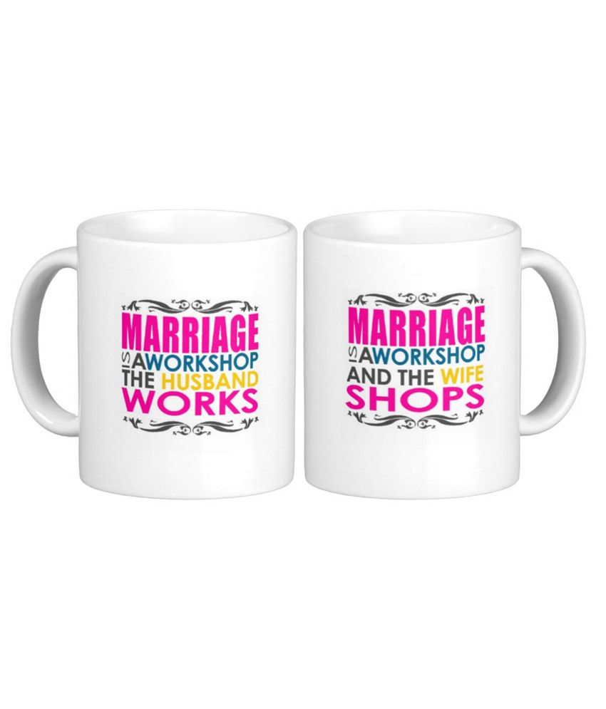 Exotic Silver Love Couple Mugs With Anniversary Funny Quotes Set Of 2 Buy Online At Best Price In India Snapdeal