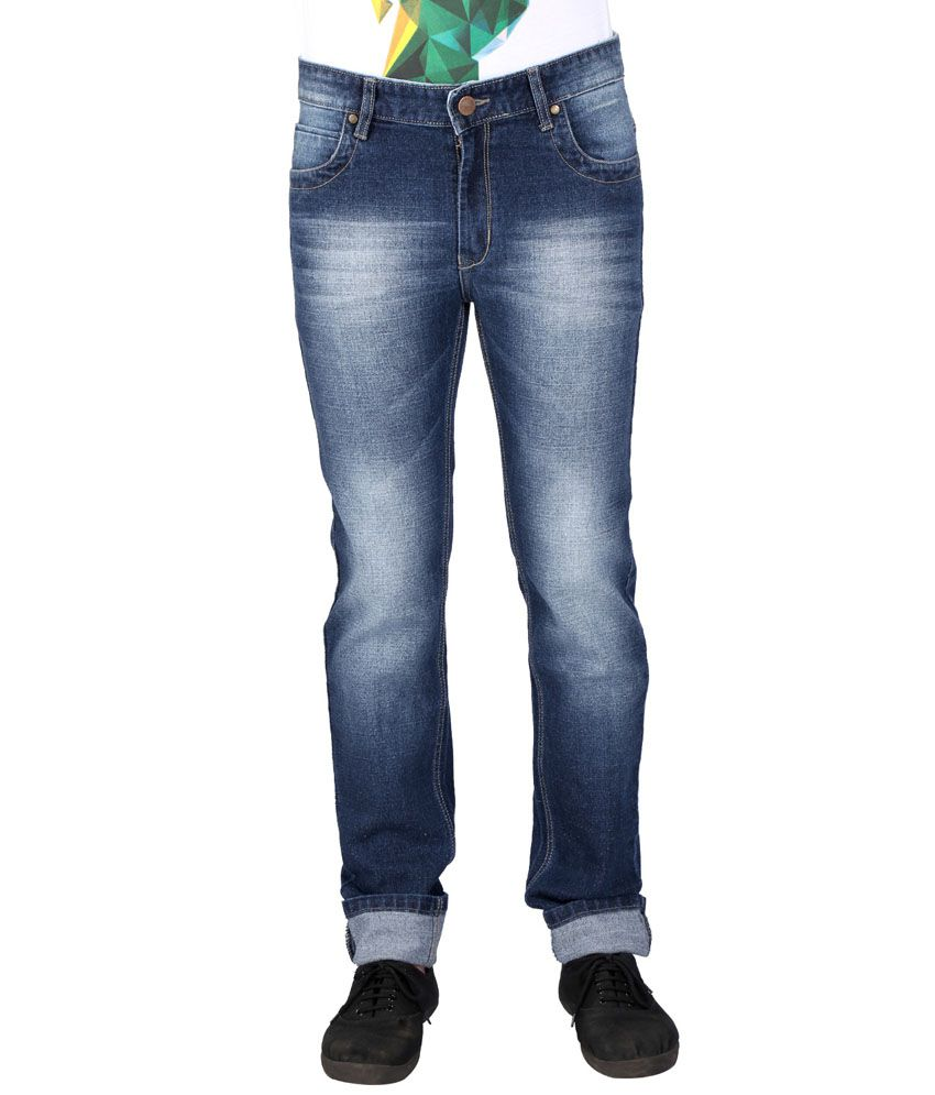 Red Chillies Blue Slim Fit Jeans