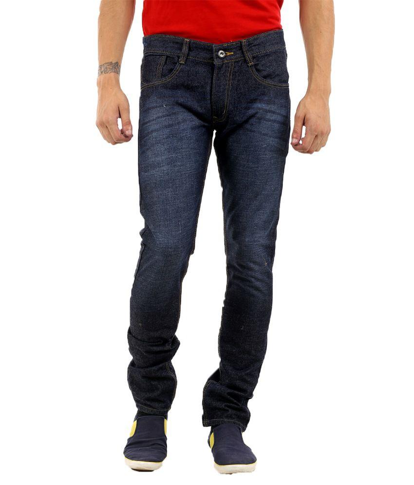 Naughty Walt Blue Regular Fit Jeans
