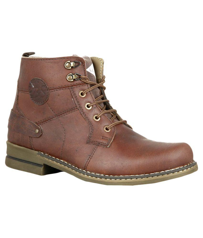 Lee Fog Brown Boots