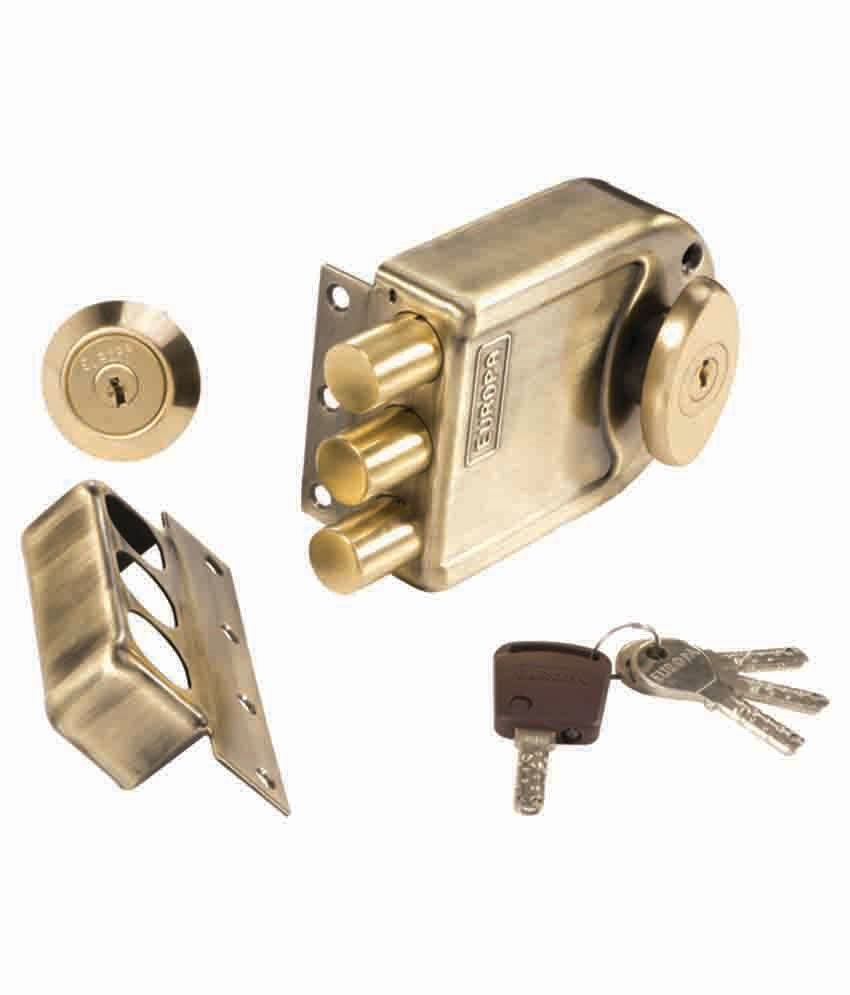 Buy Europa Tribolt Lock With Computerised Keys Online At