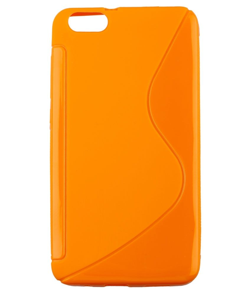sneakers for cheap d8e2b 1d54a Icod9 Back Cover For Micromax Bolt D321 - Orange - Plain Back Covers ...
