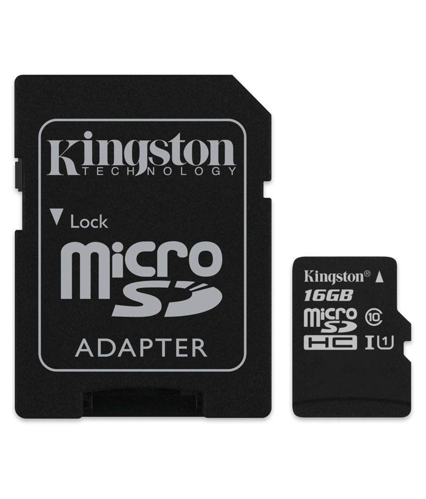 Kingston 16 Gb Class 4 Micro Sd Memory Card