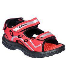 Disney Red Floater Sandals For Kids