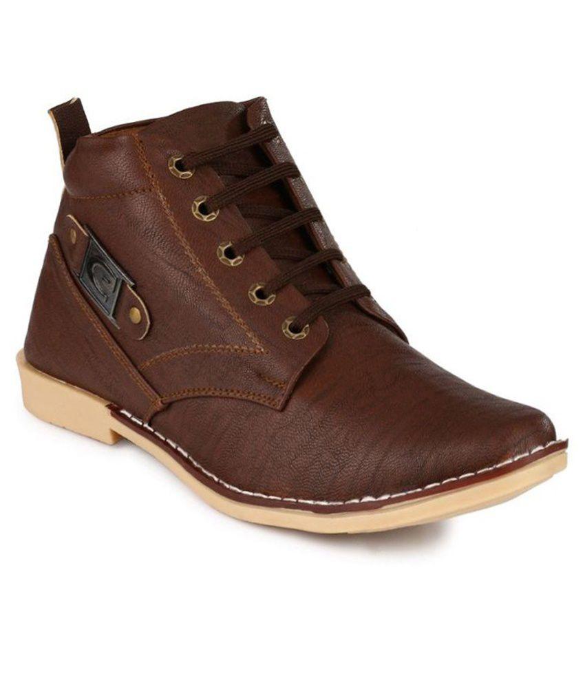 Lagesto Econogo Brown Lace Boots