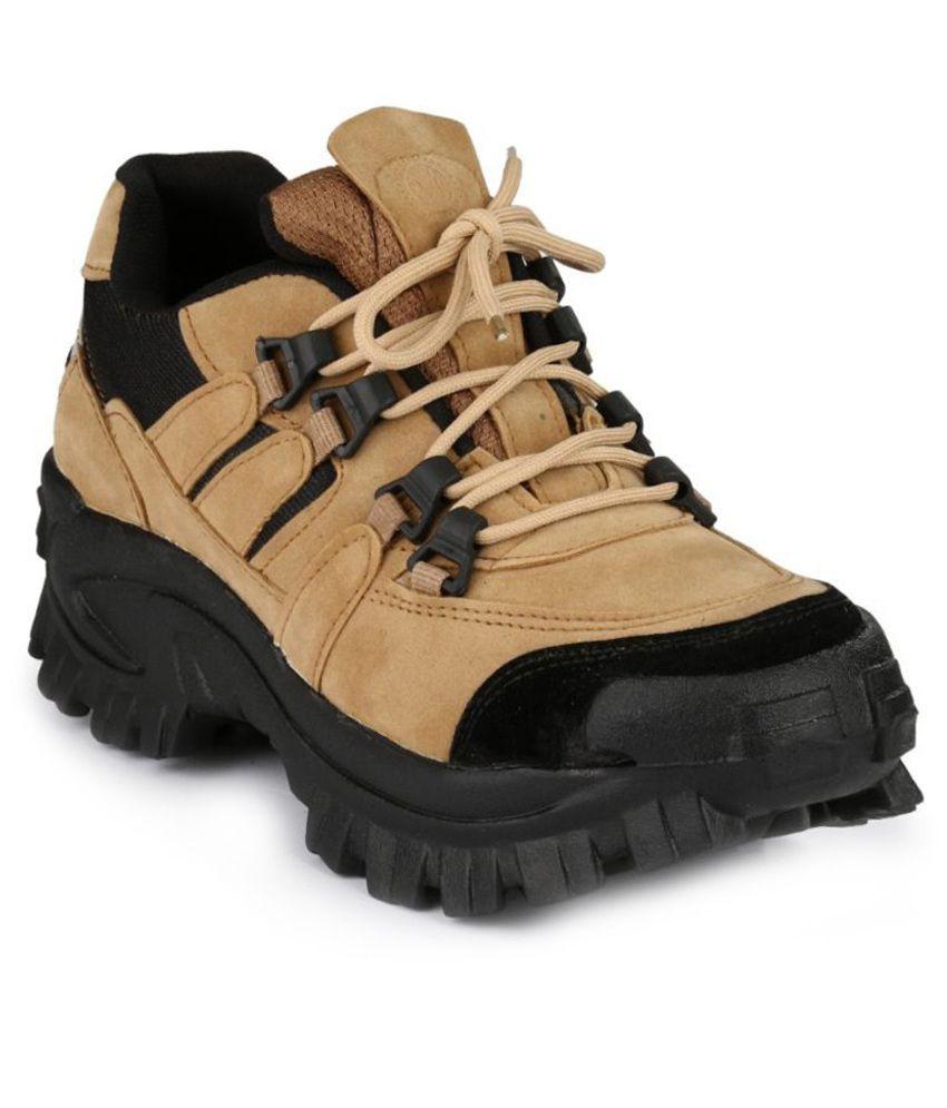 Lagesto Econogo Tan Lace Boots