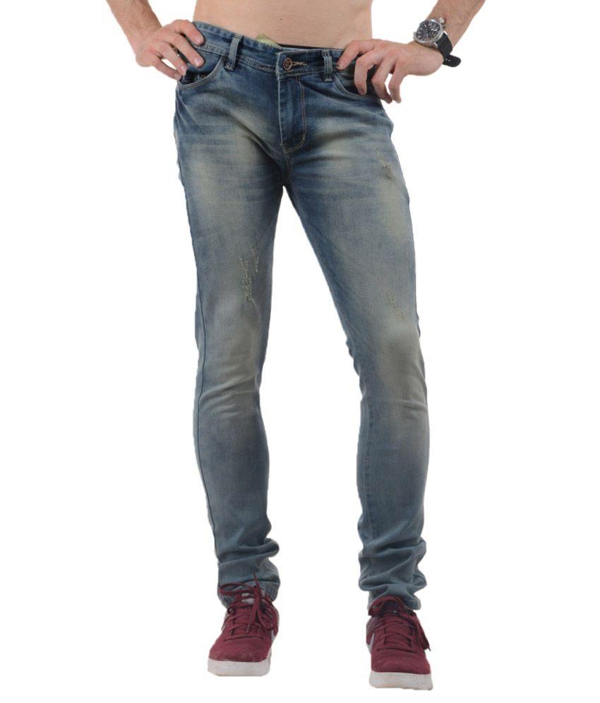 Vrgin Green Slim Fit Jeans