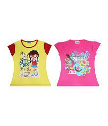 Eteenz Girls Fashion Top (Pack of 2)