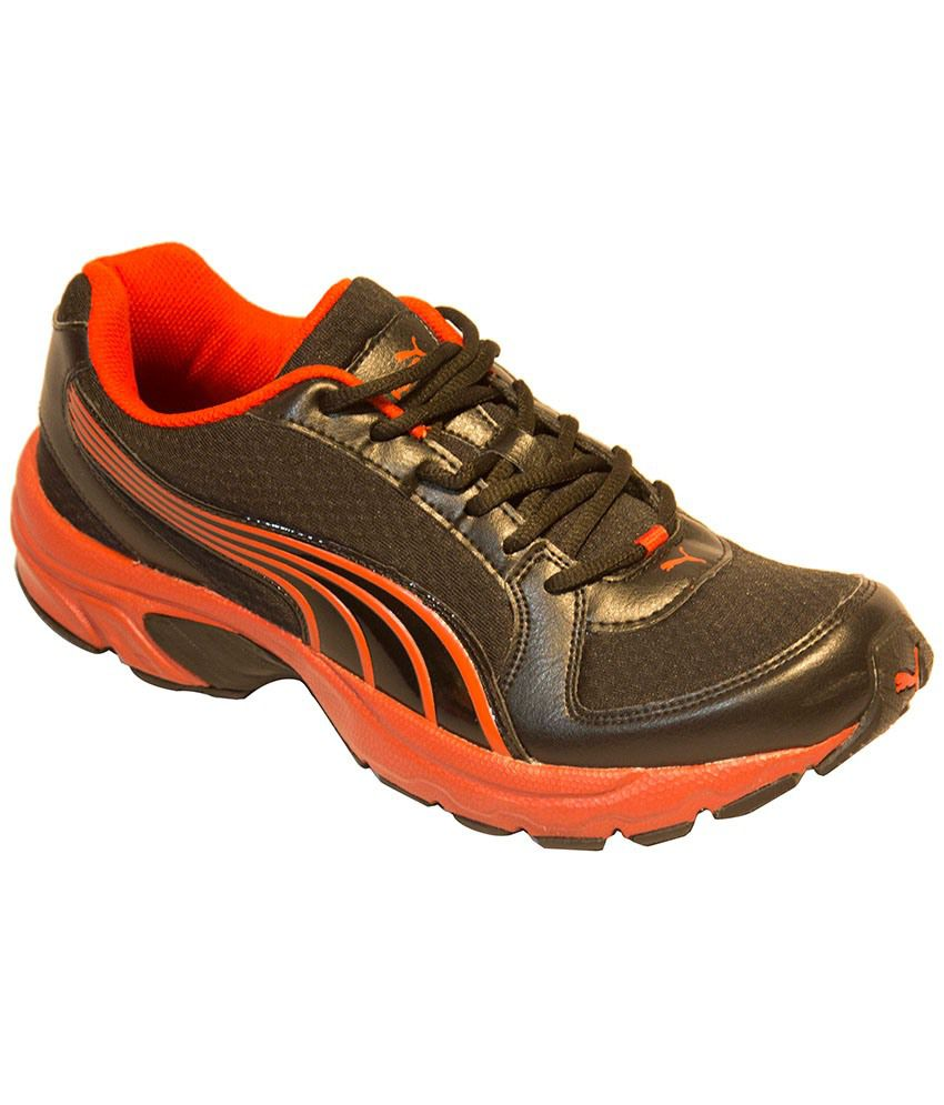Puma Brent DP Brown And Orange Sports Shoes
