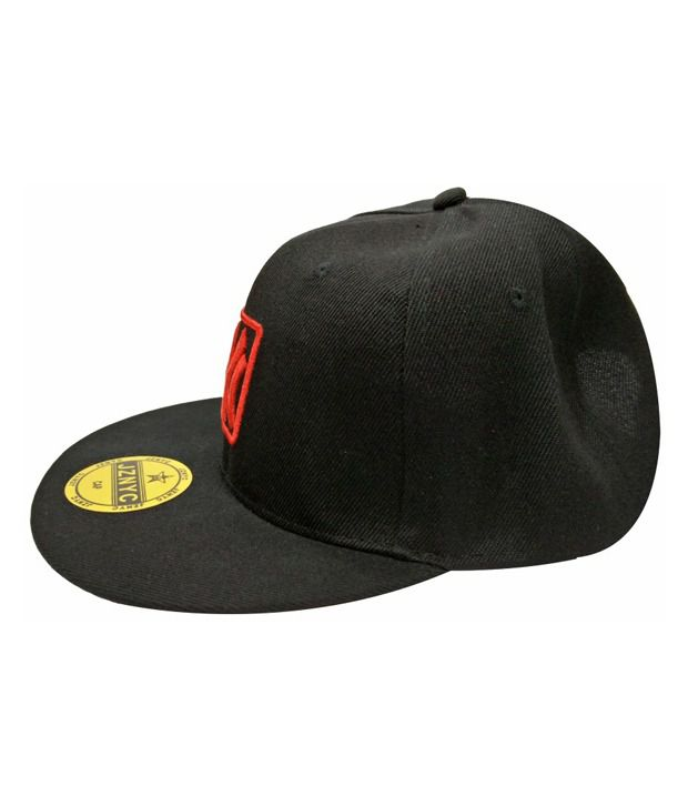 Takeincart Black Polyester Cap