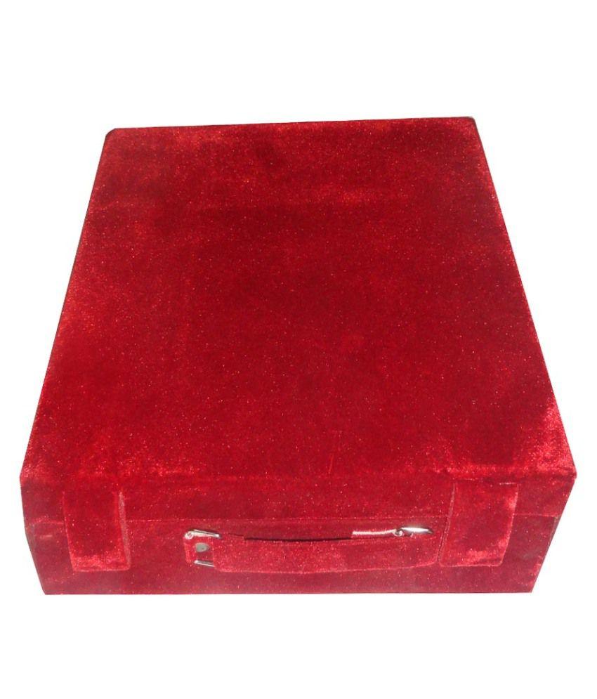 Atorakushon 5 Roll Rod Wodden Velvet Bangles Box