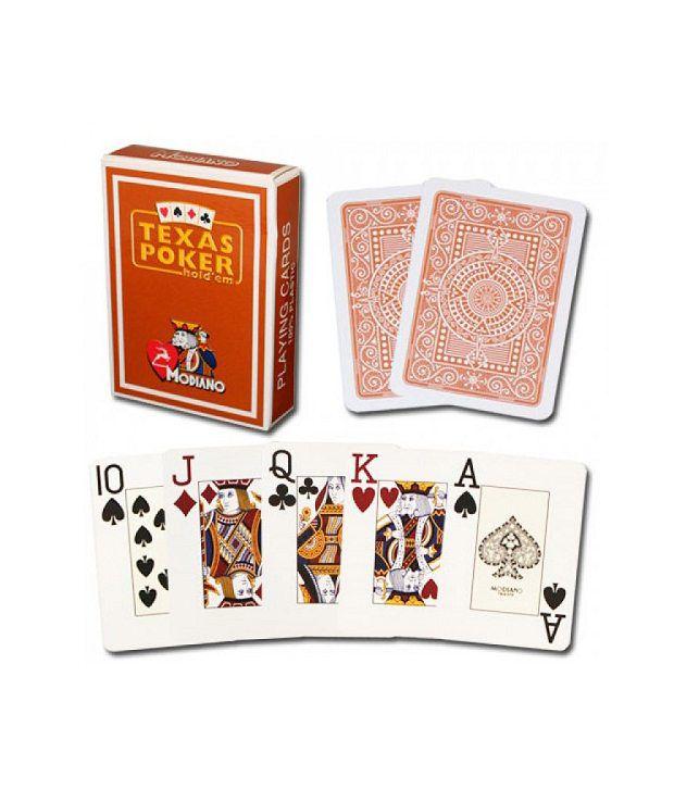 Modiano Texas Poker Jumbo - Brown