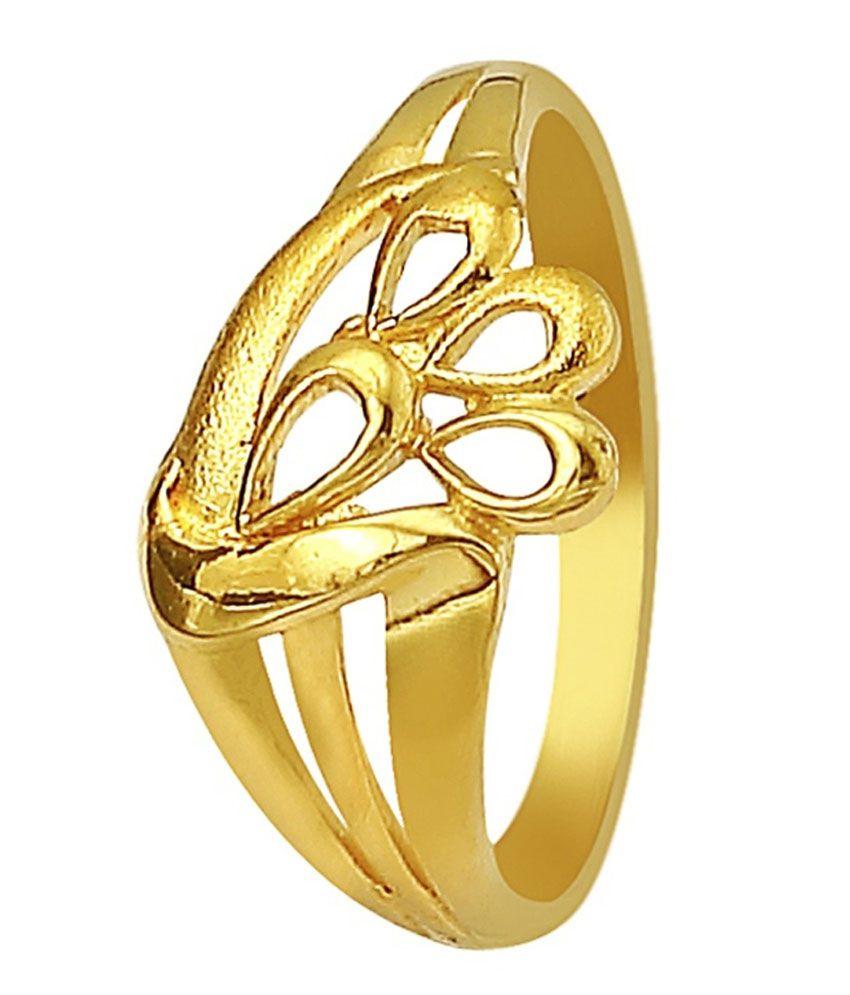 pallak 22kt gold ring buy pallak 22kt gold ring in