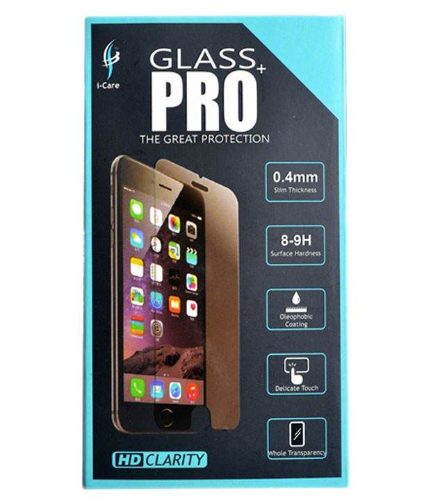 I-care Tempered Glass Screen Protector For Gionee M3 - Pack Of 2