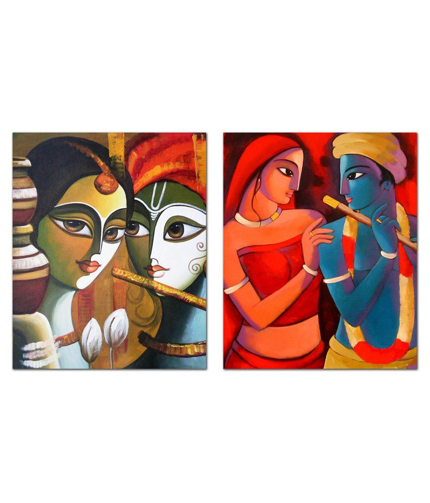 Tiedribbons Exotic Canvas Prints Home Decoration For Diwali- Best Diwali Giftwall Hanging