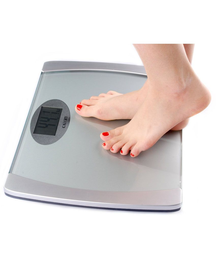 GVC Weighing Scale Personal Weight Machine-Silver: Buy GVC ...