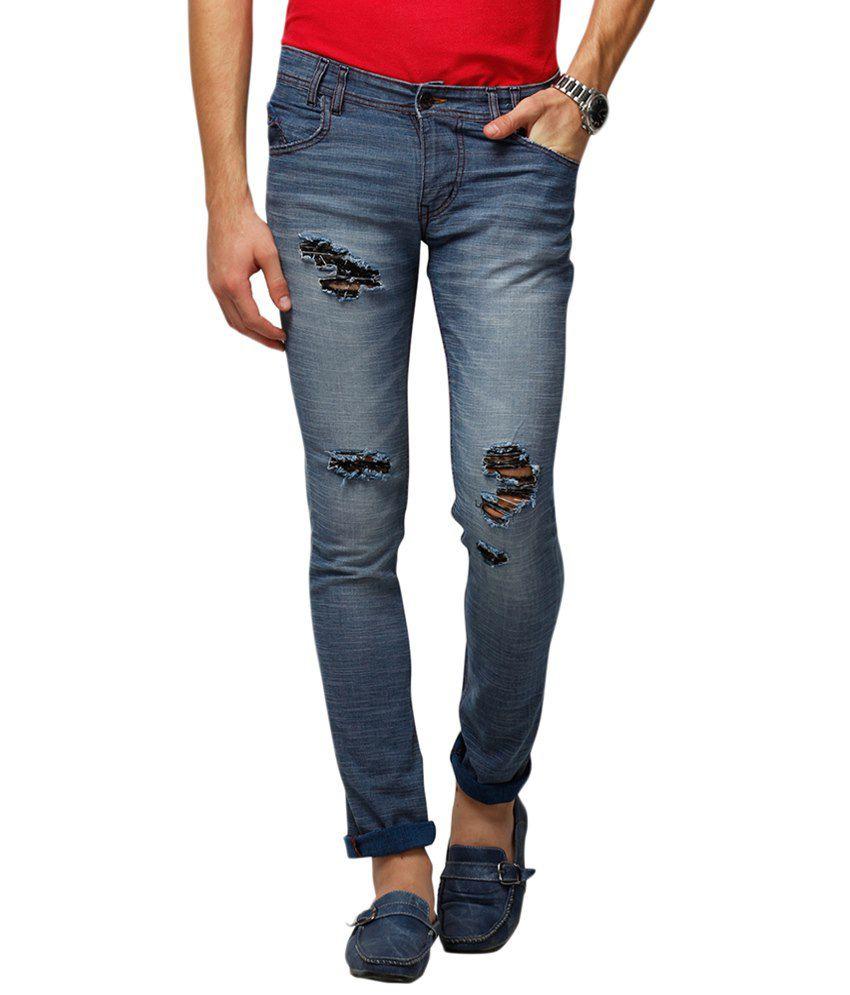 Yepme Blue Balwin Premium Jeans