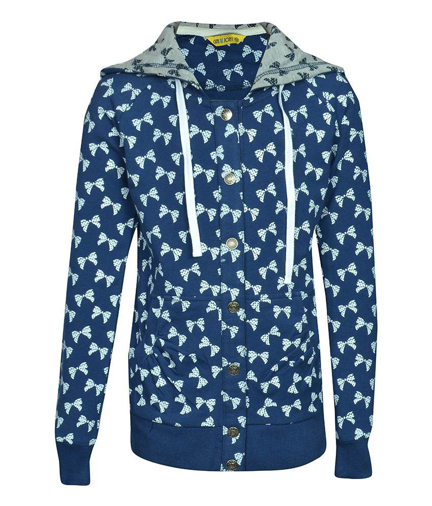 Gini & Jony Navy Full Sleeves Jacket