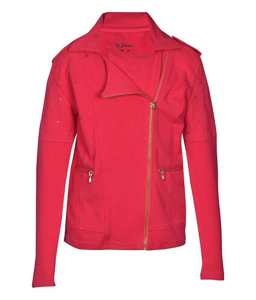 Gini & Jony Pink Without Hood Jacket