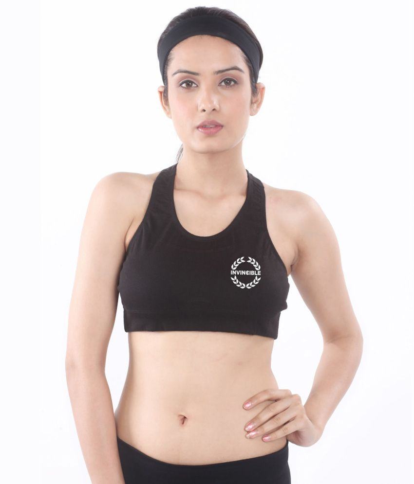 c82fbb96e2 Buy Invincible Cotton Sports Bra Online at Best Prices in India - Snapdeal