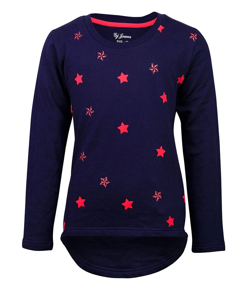 Gini & Jony Blue Crew Neck Sweatshirt