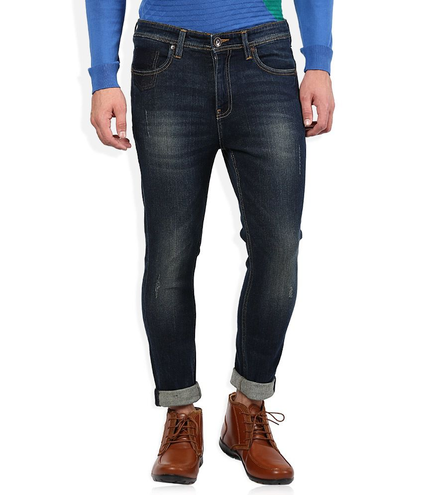 United Colors Of Benetton Blue Slim Fit Jeans