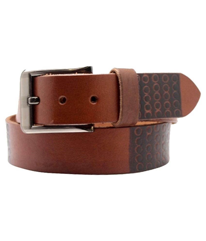 Lapalma Brown Leather Belt