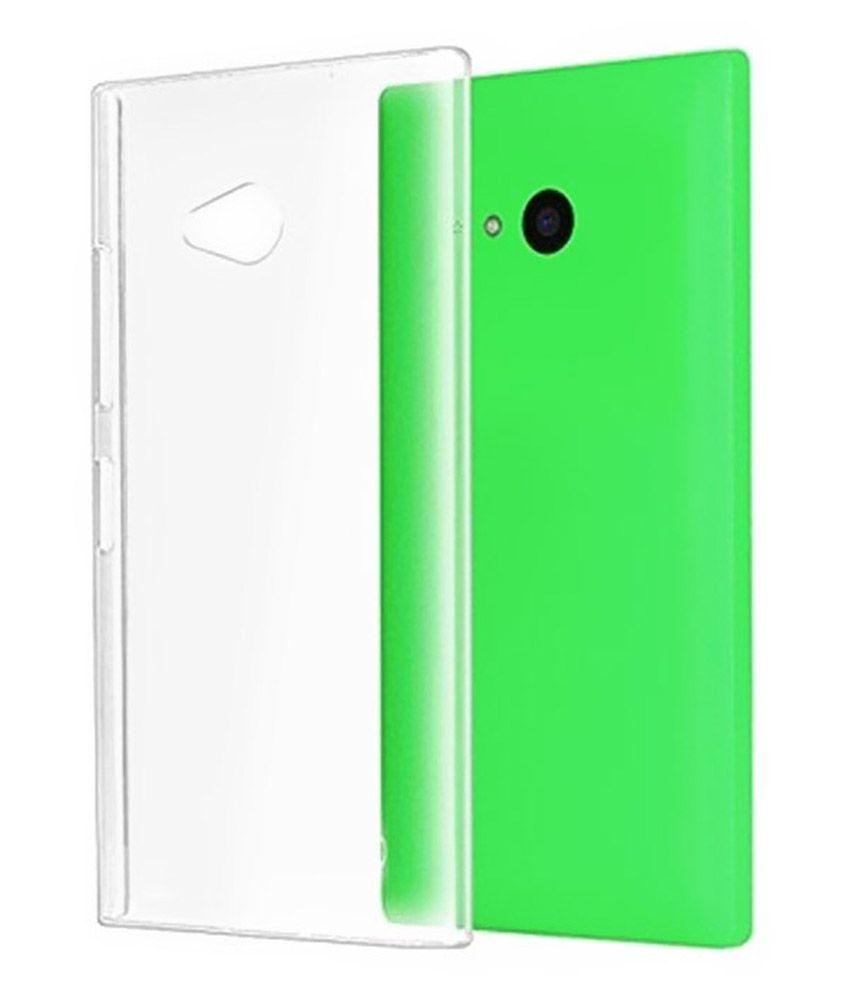 wholesale dealer 4f381 5ff5d Coverage Back Cover for Microsoft Lumia 535 - Transparent