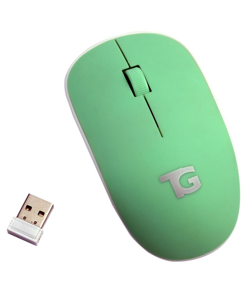 Tg-tacgears Tg-wlm-8001 Wireless Mouse Green