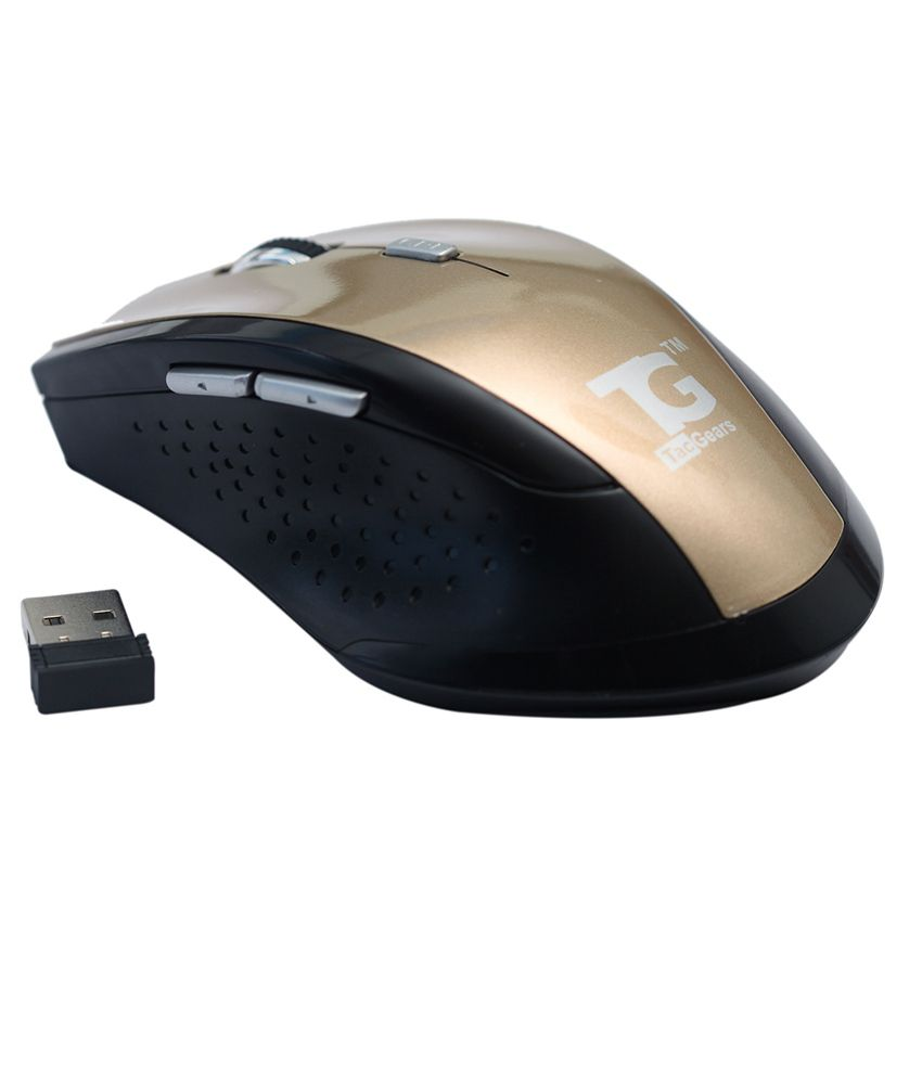 Tg-tacgears Tg-wlm-8012 Wireless Mouse Golden
