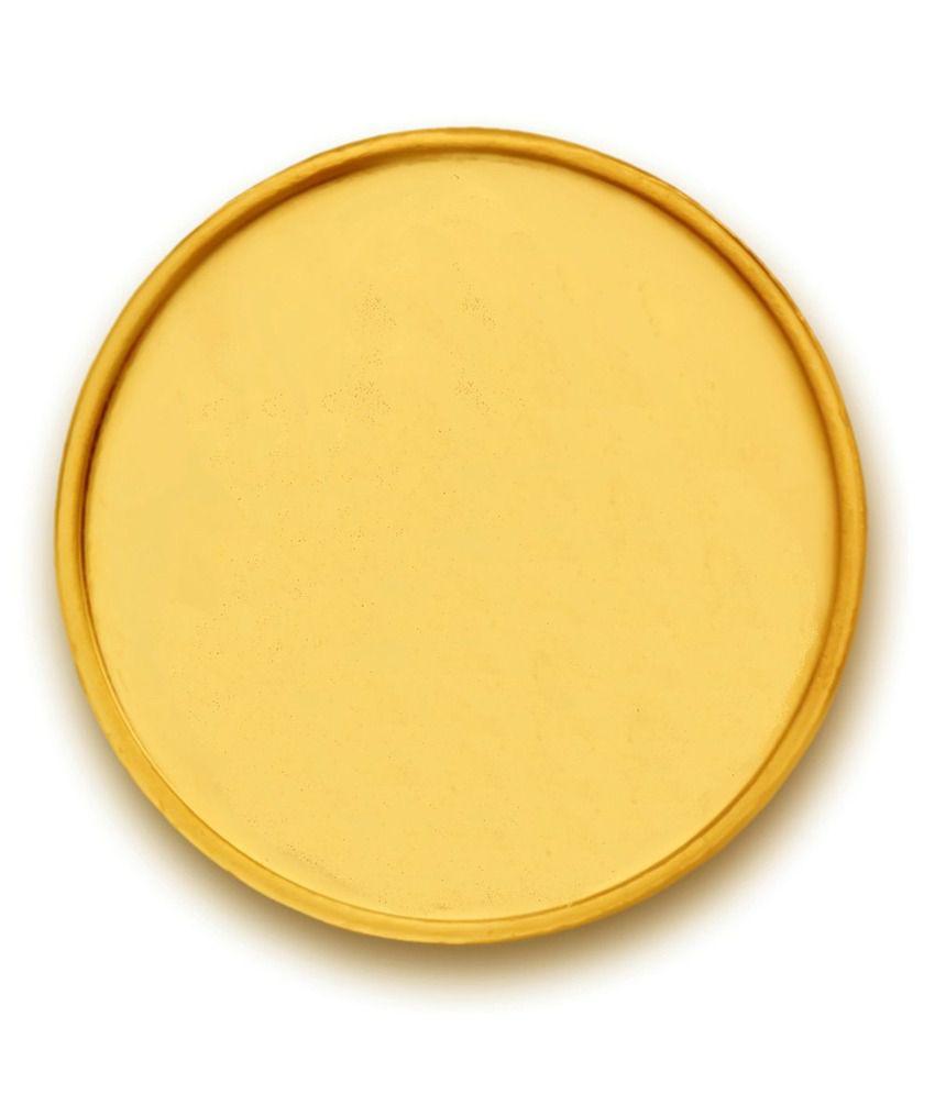 P.N.Gadgil Jewellers 3 Gm Gold Plain Coin: Buy P.N.Gadgil ...