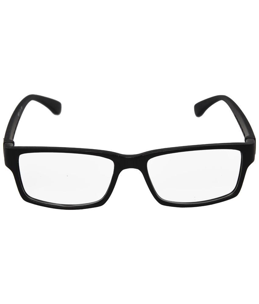 spects online  Mall4all Black Rectangular Eyeglass Frame for Men - Buy Mall4all ...
