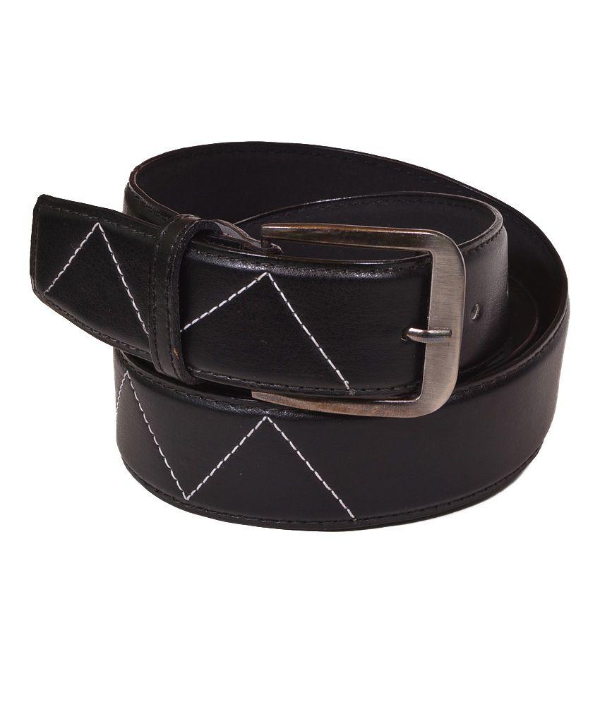 Daller Designer Black Casual Belt