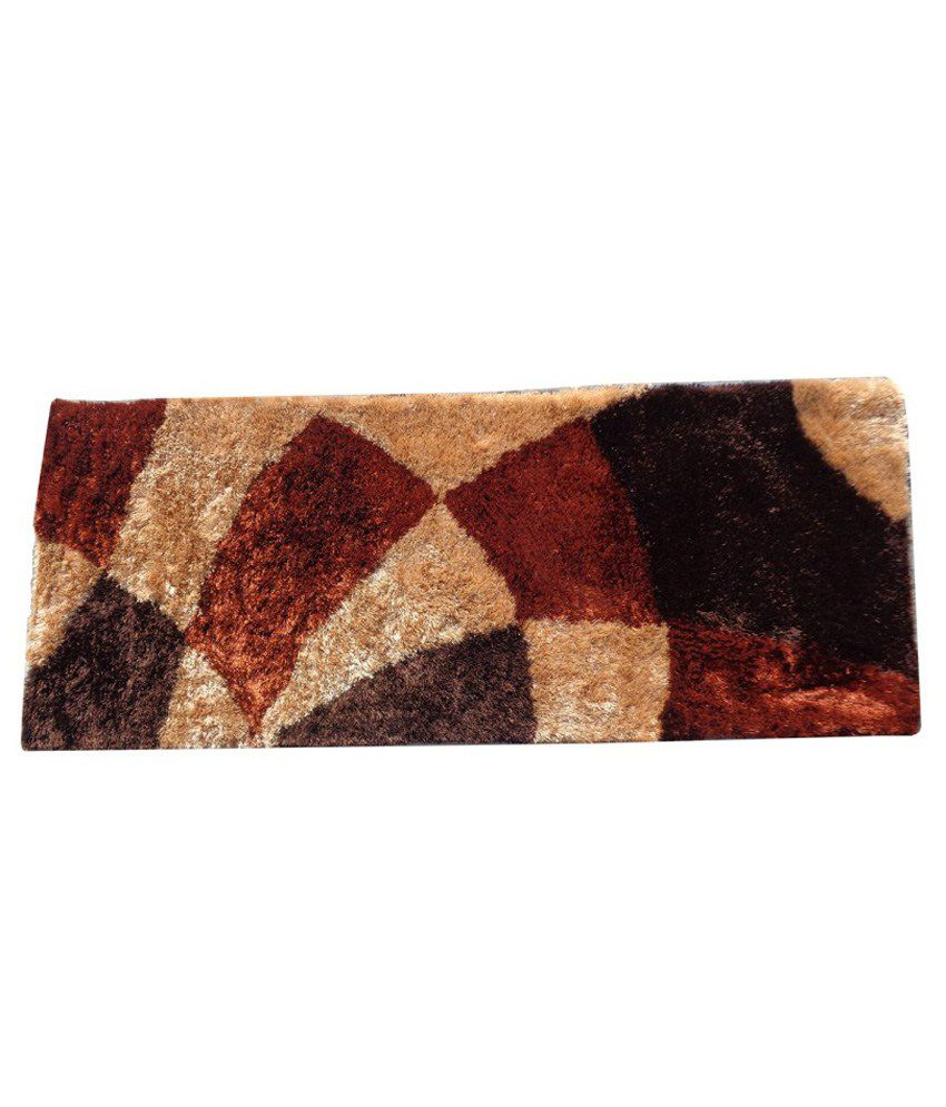 Fab Home Brown Polyester Runner Buy Fab Home Brown Polyester Runner Online At Low Price Snapdeal