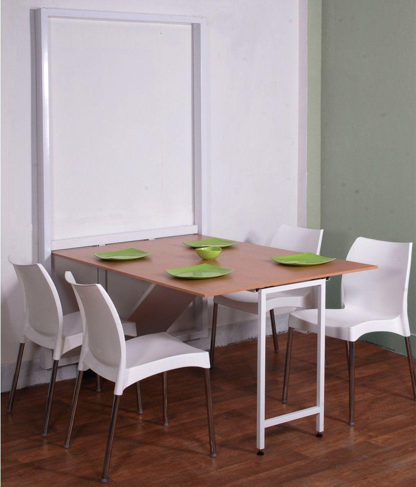 Space-saving compact gateleg table - Skovby A1101 - Wharfside