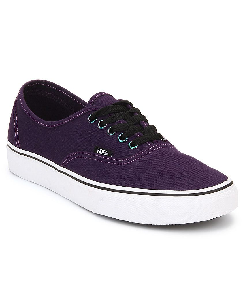 337907e061 Vans Authentic Purple Casual Shoes - Buy Vans Authentic Purple Casual Shoes  Online at Best Prices in India on Snapdeal